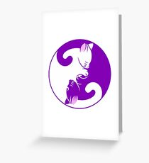 Yin Yang - TJYY 8 Greeting Card