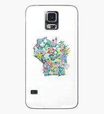 Wisconsin Wildflowers Case/Skin for Samsung Galaxy