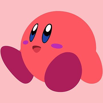 Smash Bros - Red Kirby by turpinator