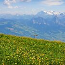 View from the Rigi, Switzerland by Jenny Setchell