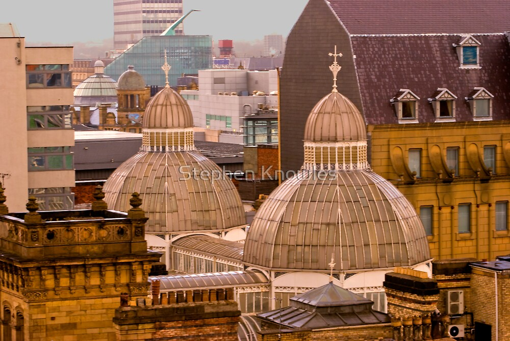 Barton Arcade roof, Manchester city centre by Stephen Knowles