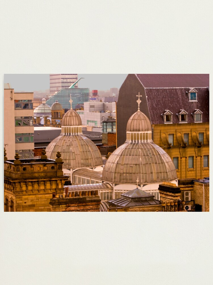 Alternate view of Barton Arcade roof, Manchester city centre Photographic Print