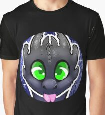 A Bubbly Night Fury Graphic T-Shirt