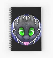 A Bubbly Night Fury Spiral Notebook