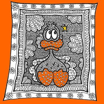 Contemplation (with orange) by sammynuttall