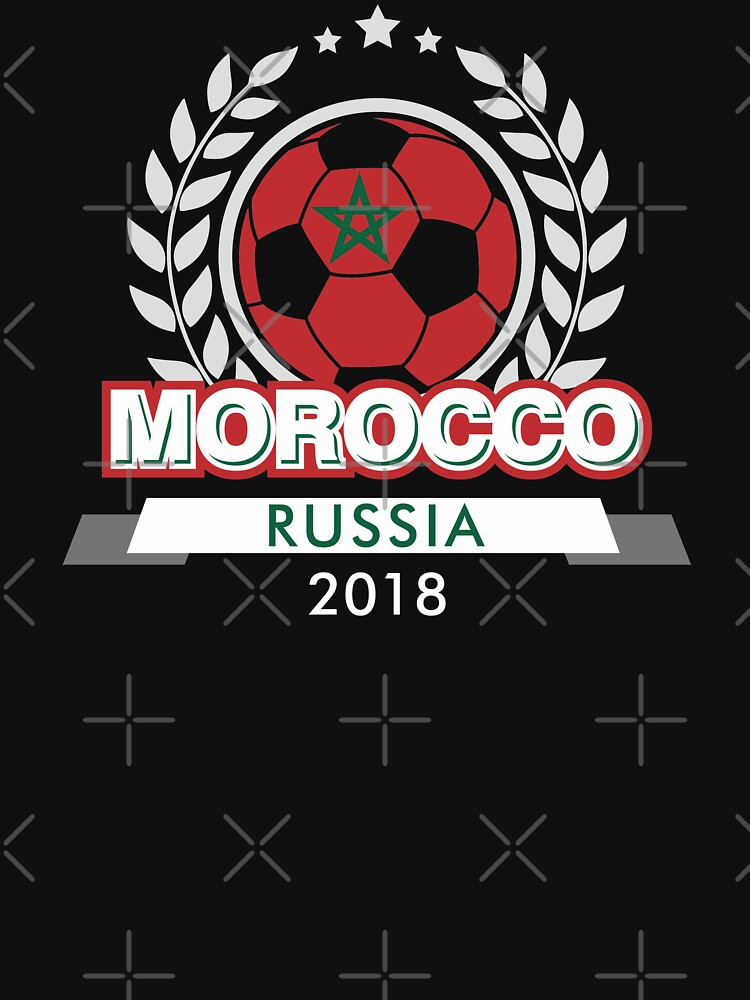 Morocco National Football Team FIFA World Cup Russia 2018