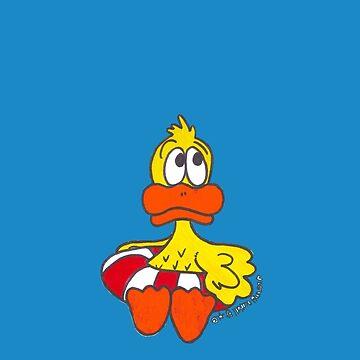 Little Floating Quacker by sammynuttall
