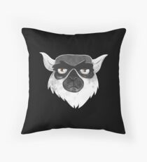 Unhappy lemur Floor Pillow