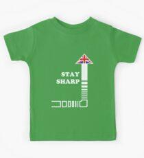 Stay Sharp Kids Tee