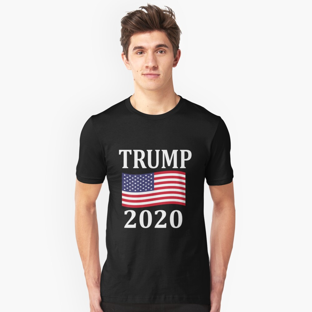 Trump 2020 Pro Donald Trump Election Shirt Unisex T-Shirt Front