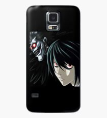Ryuk and L from the Anime/Manga TV show Death Note: Original Digital Painting Case/Skin for Samsung Galaxy