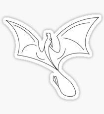 Dragon Flight Sticker