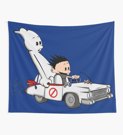Who You Gonna Call GB? Wall Tapestry