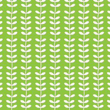 Green garden pattern by soycarola