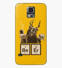 Chemie Bär entdeckt Bier Hülle & Klebefolie für Samsung Galaxy