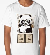 Chemistry panda discovered cute Long T-Shirt