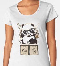 Chemistry panda discovered cute Women's Premium T-Shirt