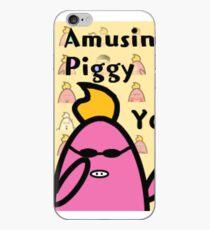 Amusing Piggy iPhone Case