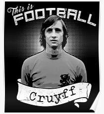 Johan Cruyff Poster