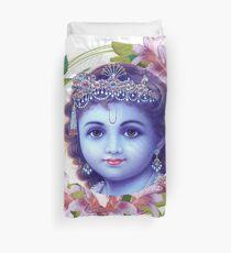 Hare Krishna Hare Krishna Duvet Cover