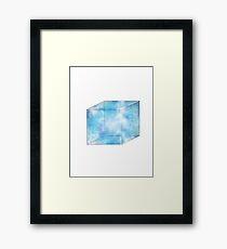 Tesseract Framed Print