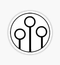 Quidditch Goals Sticker