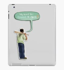 drowned at birth iPad Case/Skin