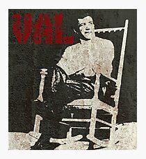 Graffiti art: Val's Rocking Chair Photographic Print