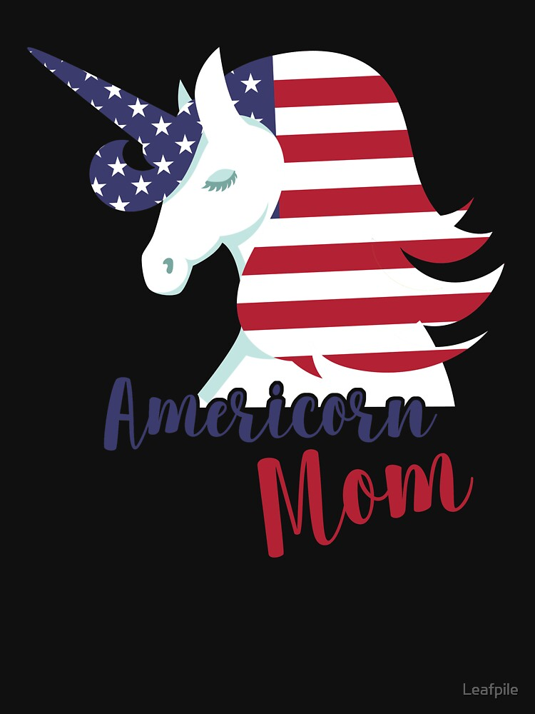 unicorn mom for sons in military by Leafpile