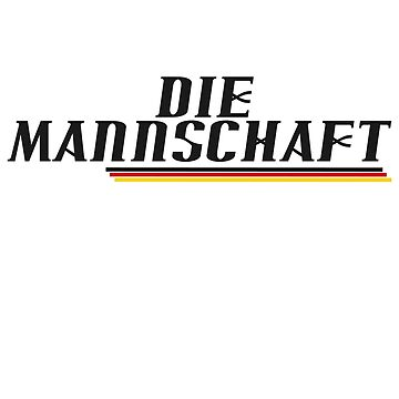 DIE MANNSCHAFT by AVenkmanDesign