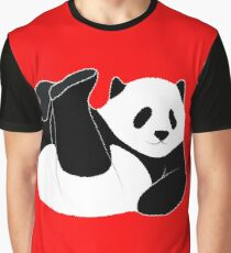 Here is a happy panda bear! Graphic T-Shirt