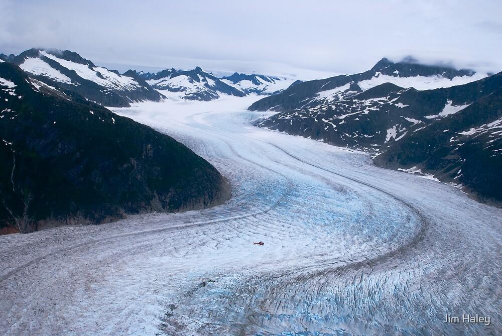 Mendenhall Glacier by Jim Haley