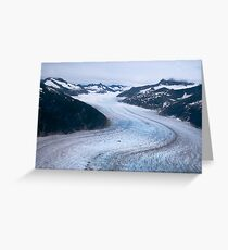 Mendenhall Glacier Greeting Card