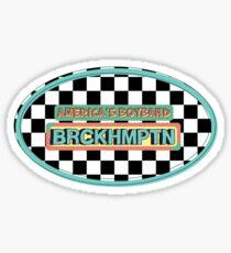 AMERICA'S BOYBAND - BRCKHMPTN Sticker