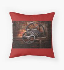 Steampunk - No 10 Floor Pillow