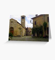 Vigoleno - St George Church Greeting Card