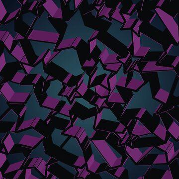 3D Mosaic BG V  by tamaya111
