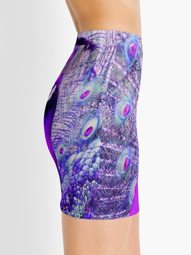 Alternate view of Purple Peacock Mini Skirt