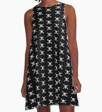 Crossbones A-Line Dress