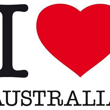 I ♥ AUSTRALIA by eyesblau