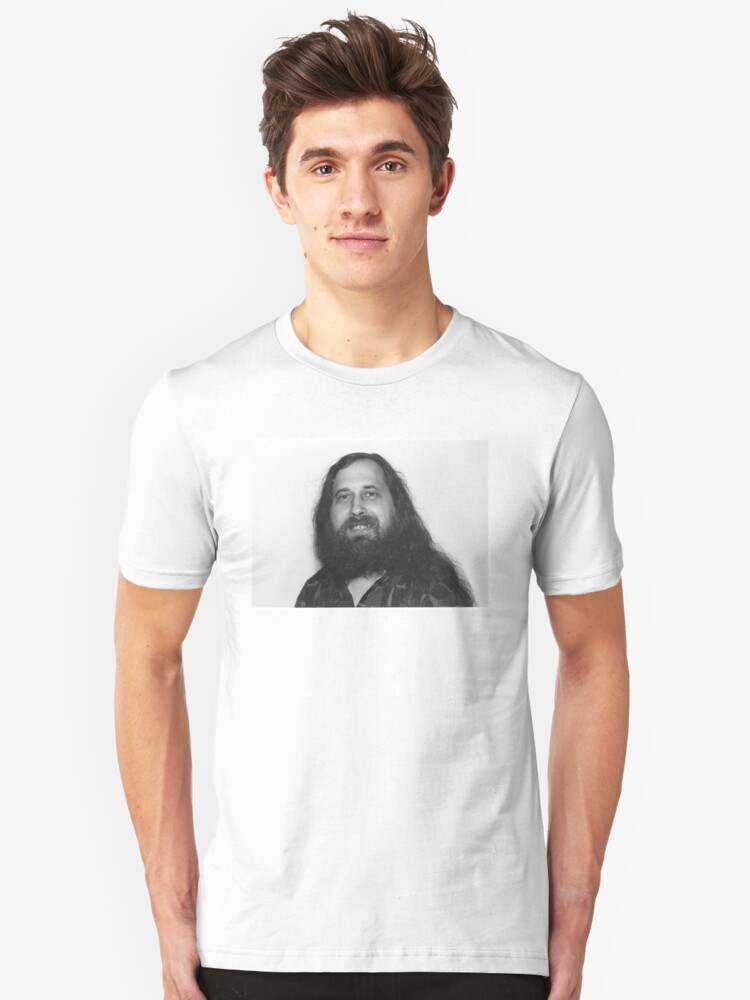 RMS Face of freedom Unisex T-Shirt Front