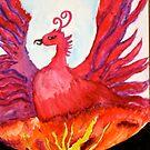 Red Phoenix by JamieLA