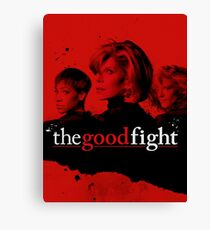 The Good Fight Canvas Print