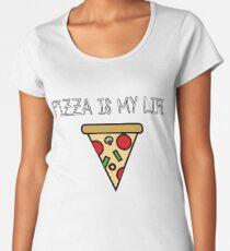 Pizza love Women's Premium T-Shirt