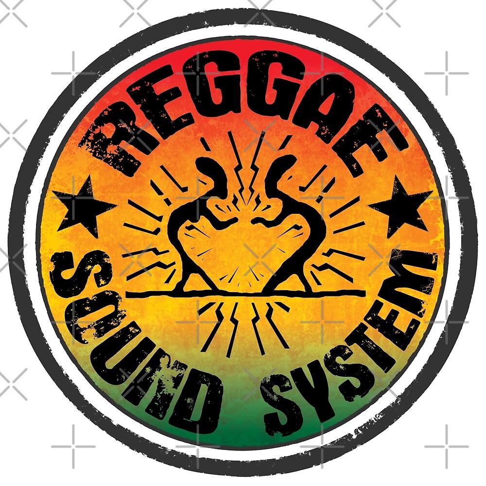 Reggae Soundsystem von Periartwork
