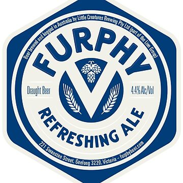Furphy Refreshing Ale by FATFELIXTHECAT