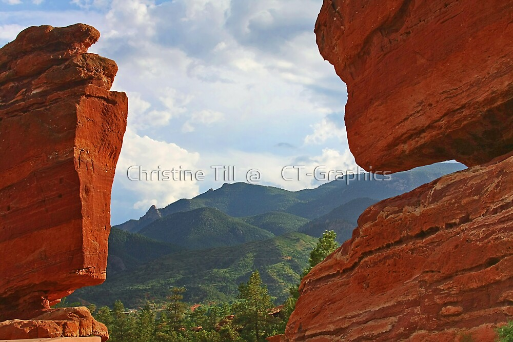 """Garden of the Gods - This place """"ROCKS""""! by Christine Till  @    CT-Graphics"""