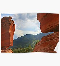 "Garden of the Gods - This place ""ROCKS""! Poster"