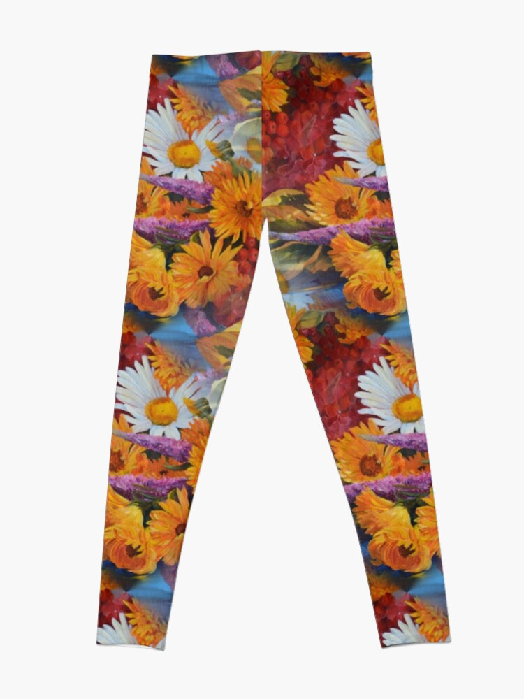 Alternate view of From With a Kiss from the sun Leggings