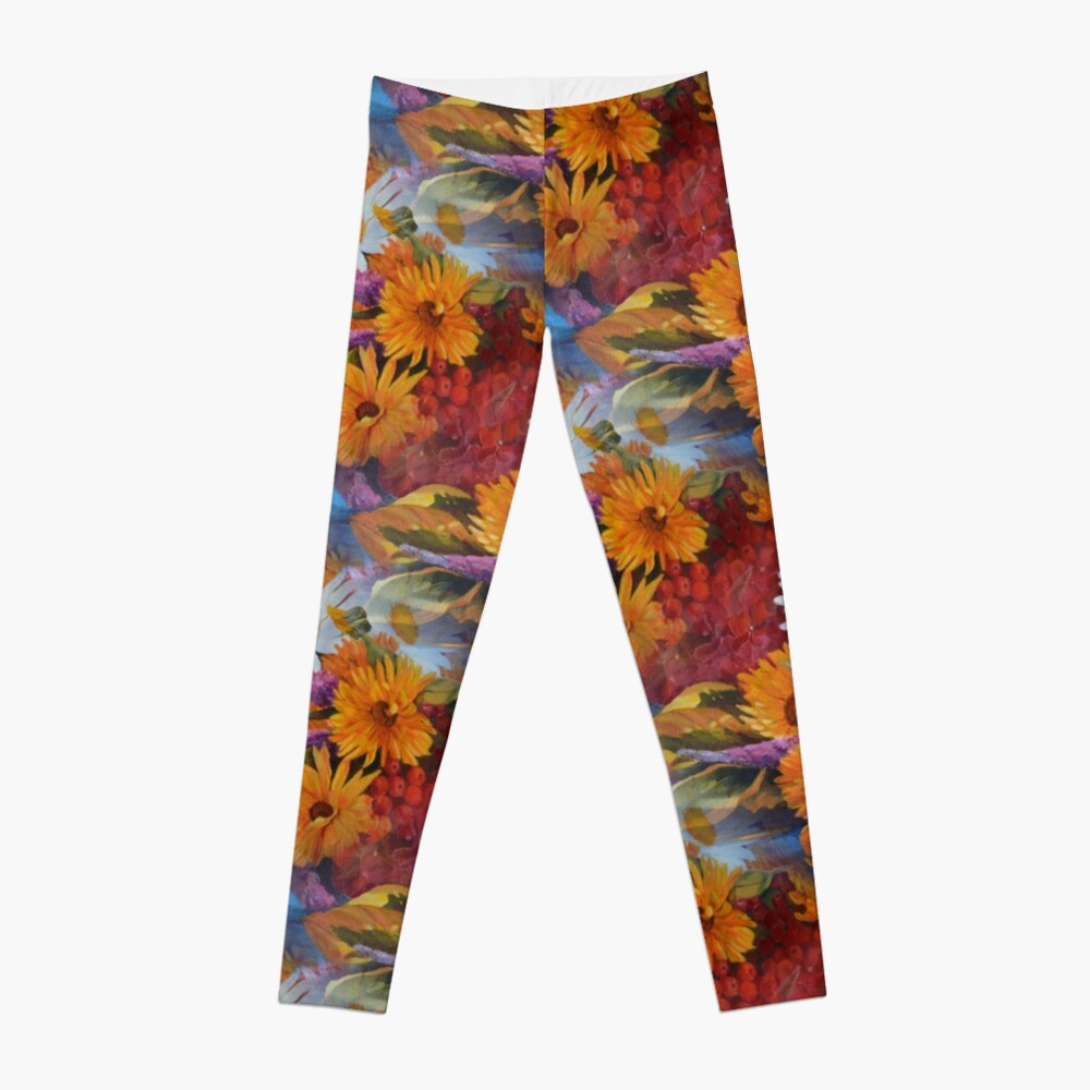 From With a Kiss from the sun Leggings Front